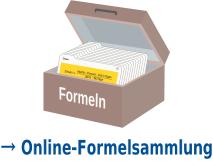 Karteikasten als Symbol der Online-Formelsammlung